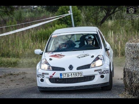 Tarmac Masters M3Racing 2018 - Marcin Pogorzelski / Agnieszka Załęczka - Renault Clio III RS