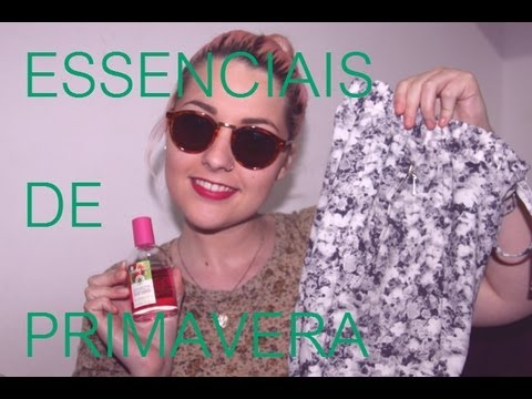 Os Meus Essenciais de Primavera | Video
