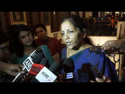 GST will help remove barriers between states: Sitharaman
