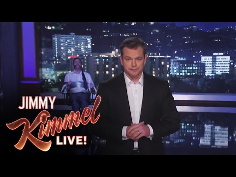 live - Jimmy Kimmel Live - Matt Damon Takes Over Jimmy Kimmel Live Jimmy Kimmel Live's YouTube channel features clips and recaps of every episode from the late nigh...