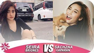 ★Seira Briones VS Sachzna Laparan l Musically Battle l
