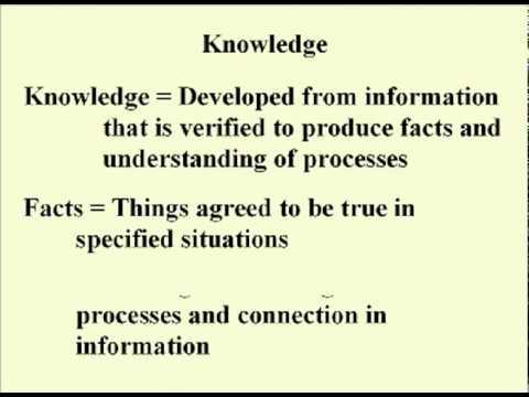 ENG 352 Technisches Schreiben- 17 - Daten, Informationen, Wissen