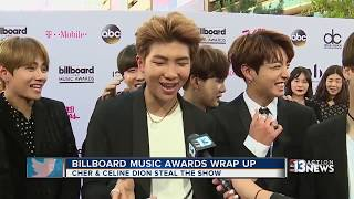 Korean pop group BTS at the Billboard Music Awards | KTNV Channel 13 Las Vegas
