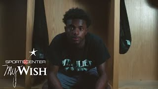 Sidelined by chronic pulmonary embolism, former athlete and 16-year-old Jalan Sowell wants to inspire others like him by...