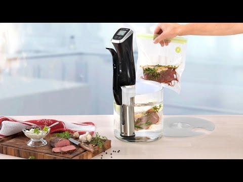 Sous-Vide-Garer «Profi» von Betty Bossi - so wird Fleisch besonders zart und saftig