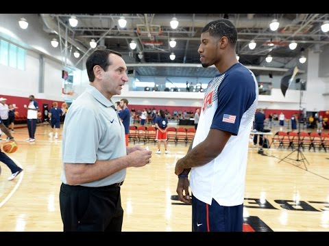 USA - Go inside USA Basketball like never before as listen in on Paul George during USA Basketball Men's National Team training camp About USA Basketball Based in Colorado Springs, Colo., USA Basketbal...