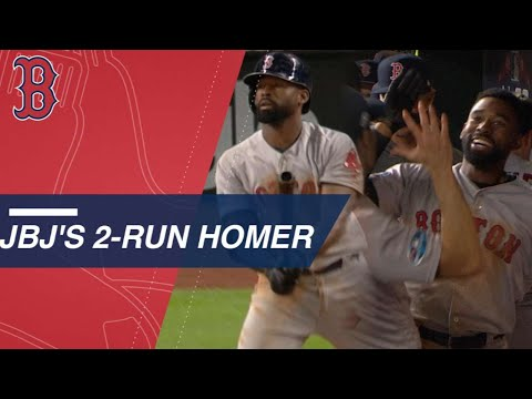 Video: Jackie Bradley Jr. launches another clutch homer in Game 4 of ALCS