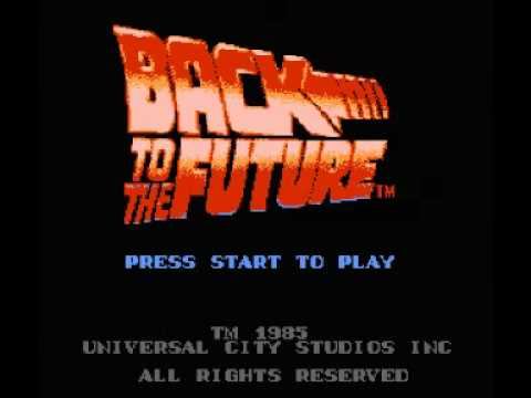 back to the future nes game