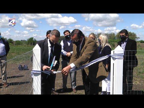 Inumet inauguró estación meteorológica automática en el aeropuerto Chalkling