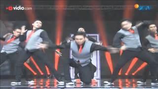 Ali Fikry dan Srigatif, Manado - 10 Besar The Dance Icon 2