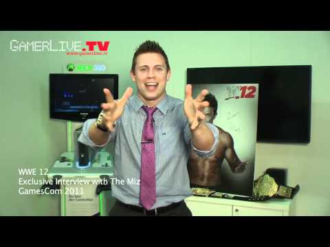 GamesCom 2011: WWE Superstar The Miz Thinks He's Awesome in THQ's WWE 12 Game - Part 1