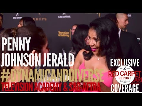 Penny Johnson Jerald #TheOrville at 5th Dynamic & Diverse Television Academy & SAG-AFTRA Party