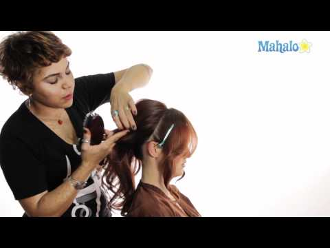 How to Do Your Hair For Prom – Strapless Dress Look