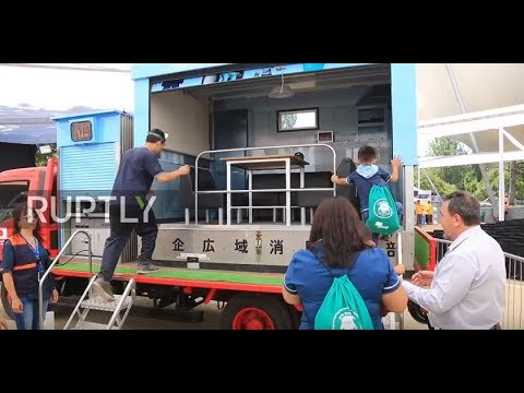 Chile: Santiago presents first earthquake simulator truck