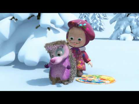 Песенка Картина маслом - Маша и Медведь