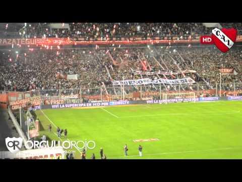 La gente de Independiente vs. Arsenal - Inicial 2012 - HD - La Barra del Rojo - Independiente