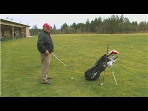 Golf Swing Tips : How to Turn the Right Shoulder Correctly Out of the Way During the Golf Back Swing