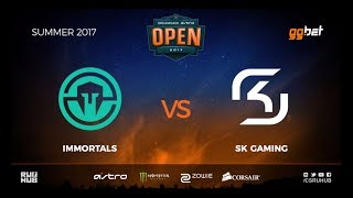 Immortals vs SK Gaming - DREAMHACK Open Summer - de_cache [MintGod, CrystalMay]