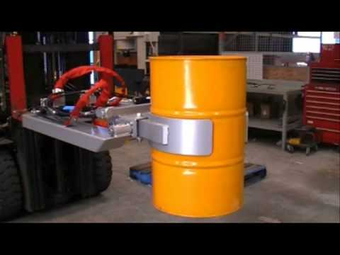 Hydraulic Drum Rotator DC-GR2 Video Image