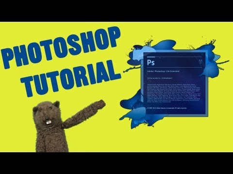 Tutorial de Photoshop al estilo Barrio Sésamo