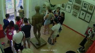 Video Security Camera Footage Shows Moment Van Drove Down Las Ramblas in Barcelona MP3, 3GP, MP4, WEBM, AVI, FLV Agustus 2017