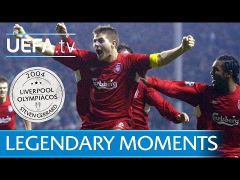 Gerrard Delights Anfield With Liverpool Winner (2004)