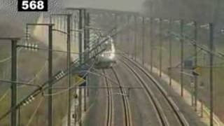 Video TGV speed record 574,8 km/h MP3, 3GP, MP4, WEBM, AVI, FLV Desember 2018