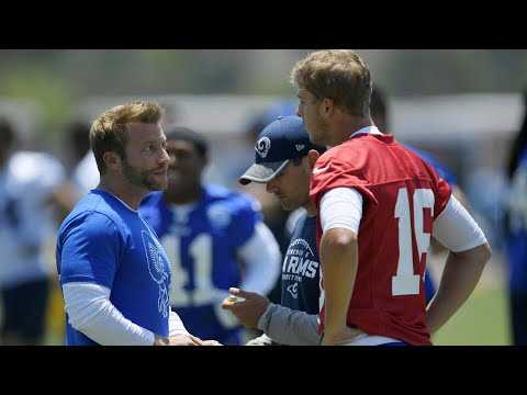 Video: How Sean McVay is helping Jared Goff at line of scrimmage