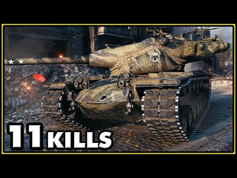 T57 Heavy - 11 Kills - World of Tanks Gameplay