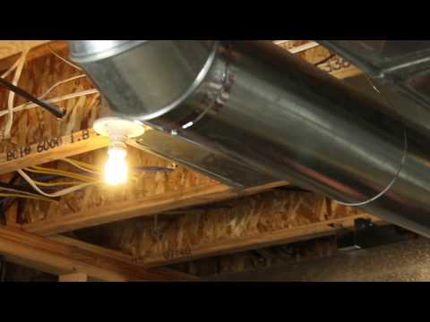 Your Furnace Fresh Air Intake and Finishing Your Basement