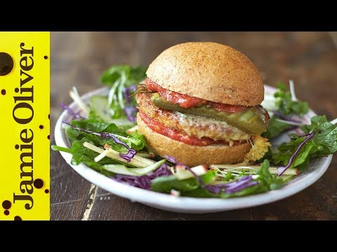 Super Food Tofu Burger | Jamie Oliver