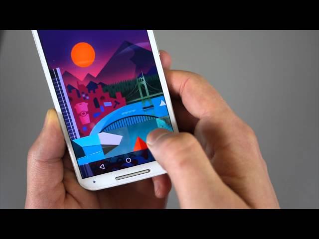 """Moto X (2nd gen) Android 5.0 """"Lollipop"""" Tour!"""