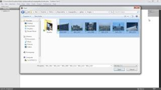 PHP File Based Image Gallery: Styling (1/3)