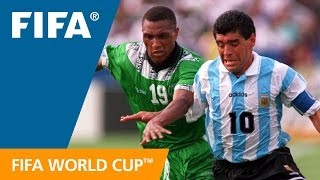 Video World Cup Highlights: Argentina - Nigeria, USA 1994 MP3, 3GP, MP4, WEBM, AVI, FLV Juli 2018
