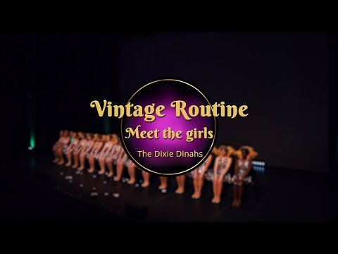 Savoy Cup 2018 - Vintage Routine - Meet The Girls (видео)