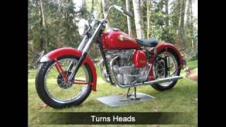 8. Island Brian's 1950 Indian Warrior Motorcycle