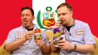 Peru Taste Test ft Ashens by  My Virgin Kitchen