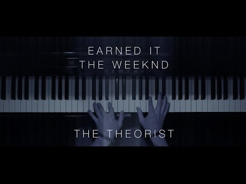 The Weeknd - Earned It  Piano Instrumental Cover
