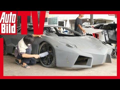 Thái Lan chế tạo siêu xe Lamborghini hay Ferrari với 50.000 Euro :D