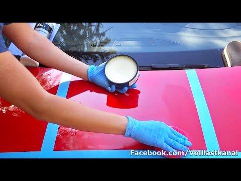 AUTO RICHTIG WACHSEN, WAX-VERGLEICH von COLLINITE, KOCH CHEMIE, LIQUI MOLY / How To Wax Your Car
