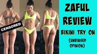 Video ZAFUL REVIEW | Bikini Try On & Product Opinion  (not sponsored) MP3, 3GP, MP4, WEBM, AVI, FLV November 2018
