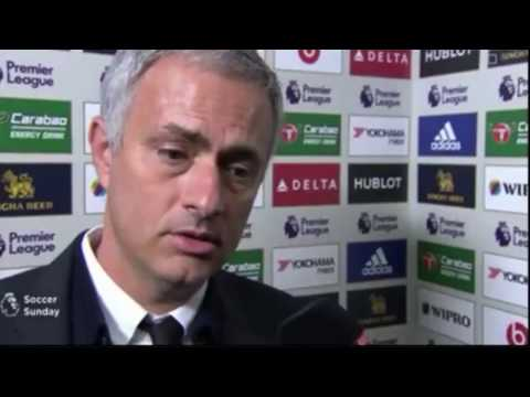 Chelsea vs Man United  4-0 ● Jose Mourinho Post Match interview ●  2016