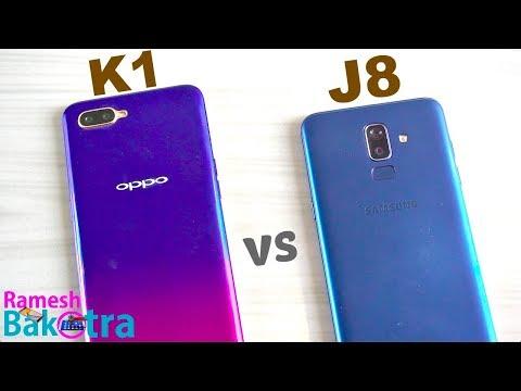 Oppo K1 vs Samsung Galaxy J8 SpeedTest and Camera Comparison - Thời lượng: 7 phút, 20 giây.