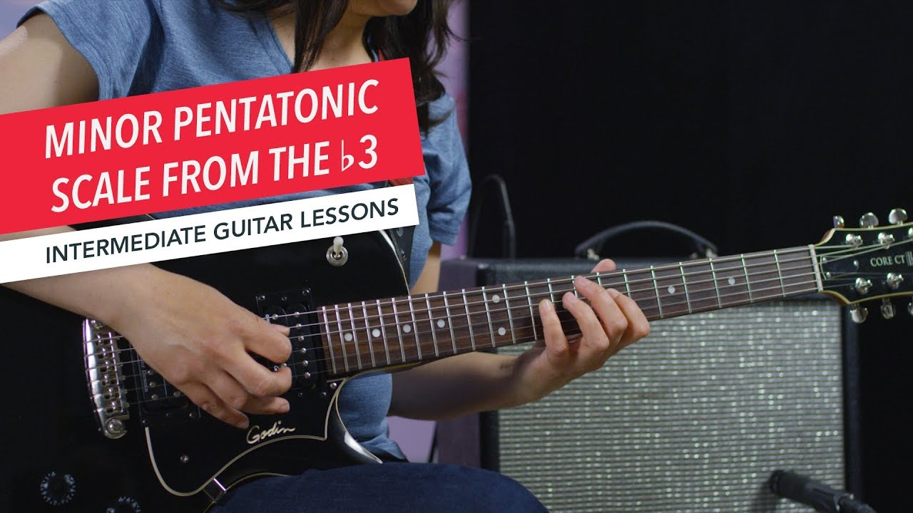Guitar Lessons | Advanced Beginner | Minor Pentatonic Scale from the ♭3 | Berklee Online | Part 1/7