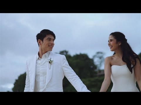 Wedding of Rob Mananquil and Maxene Magalona (видео)