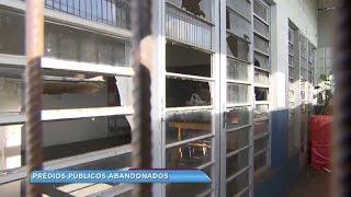 Prédios públicos abandonados em Marília preocupam moradores