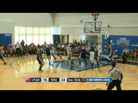 Utah Jazz vs Houston Rockets Summer League Recap