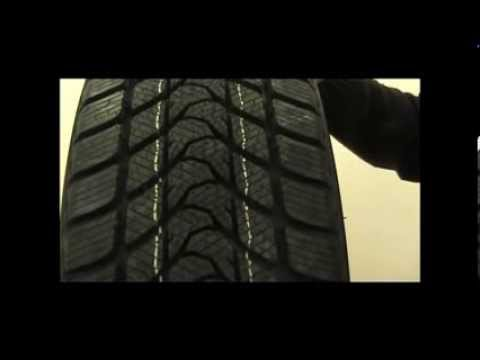 Cómo es un neumático de invierno