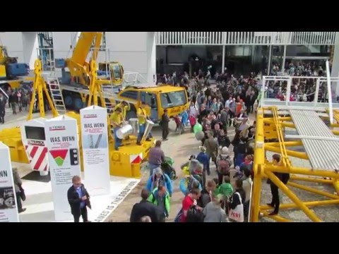 Demag - Part of Terex Construction Equipment - Bauma 2016 - Stomp Drums