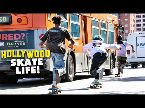HOLLYWOOD L.A. SKATE LIFE